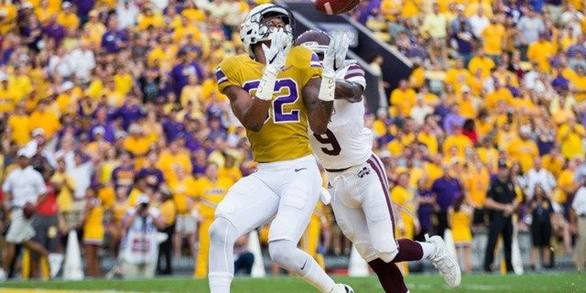 LSU First downs and fumbles: Mississippi State