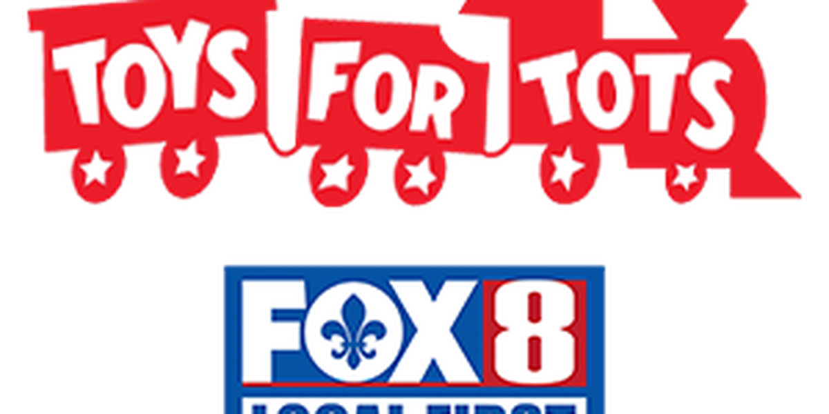 """Hundreds of kids received gifts today for the """"Toys for Tots"""" giveaway"""