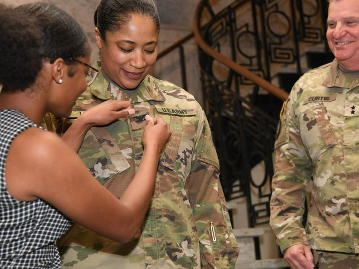 Louisiana National Guard has its second black female colonel