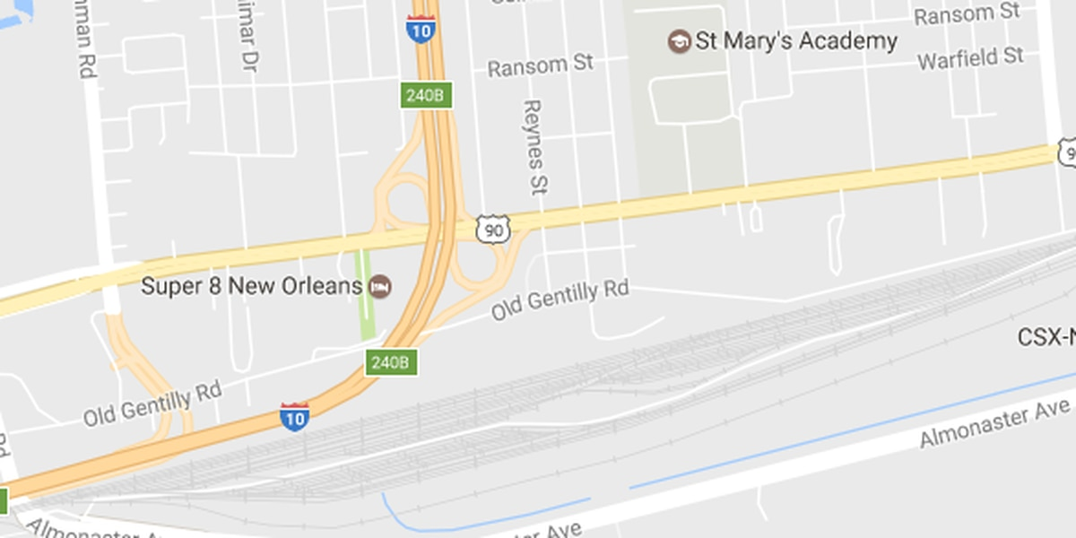 NOPD working a triple shooting in New Orleans East