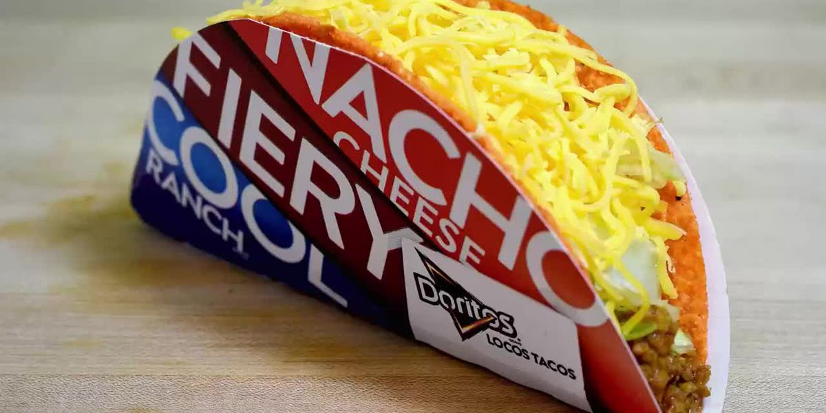Taco Bell giving away free Doritos Locos Tacos