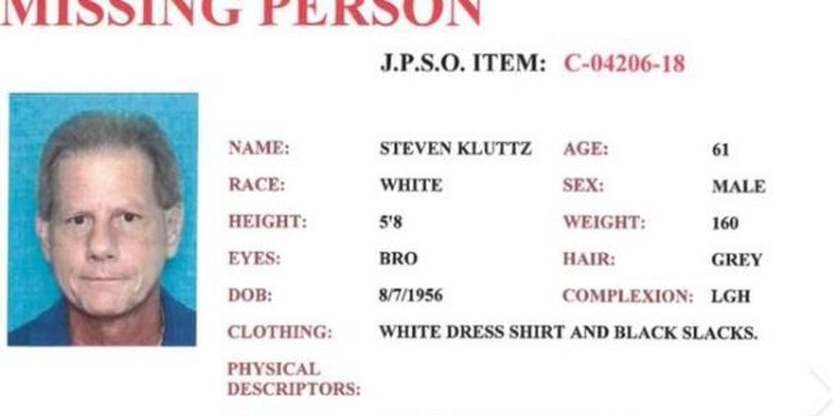 JP officials searching for missing man
