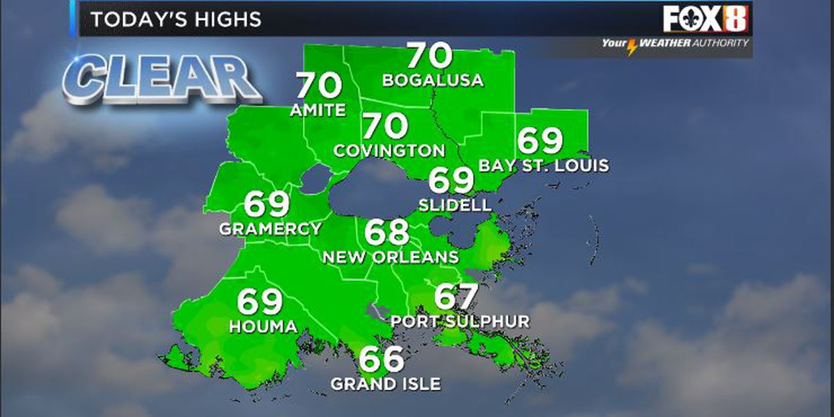 Bruce: A beauty today! Sun,low humidity and perfect temps