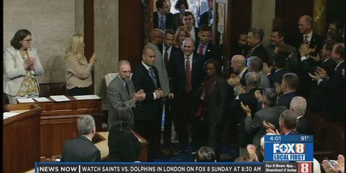 Rep. Steve Scalise returns to the House floor for first time following shooting