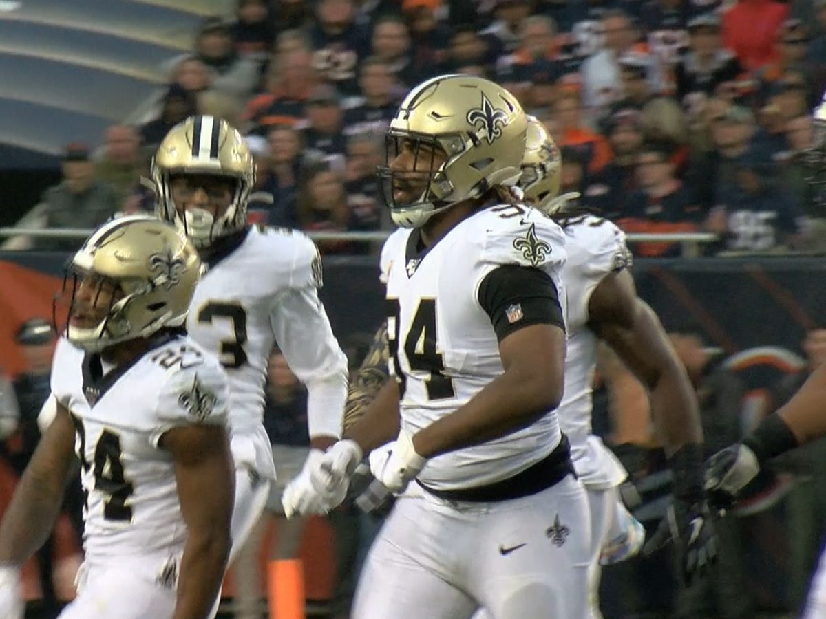 Cam Jordan among defenders missing Thursday's practice