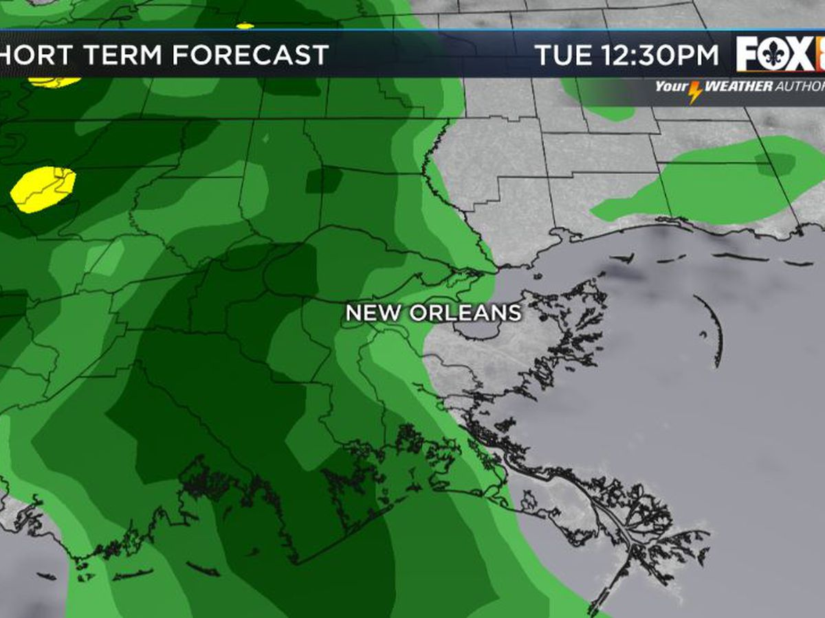 Bruce: Rain chances are back and here through most of the week