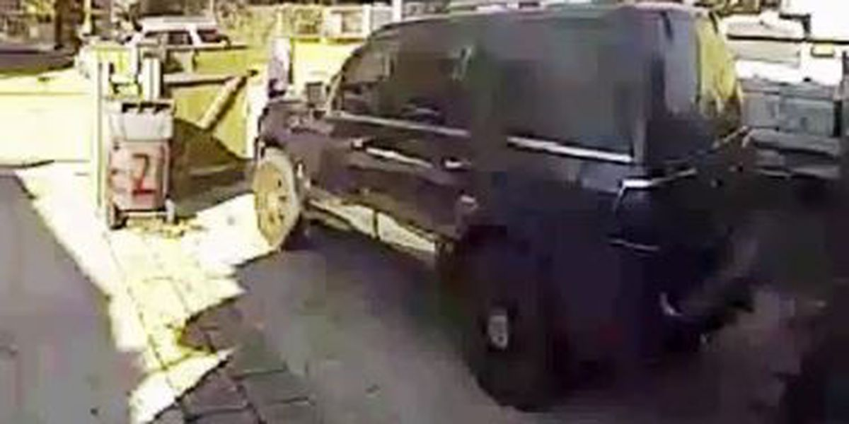 Video: Thieves get away with SUV in Gentilly