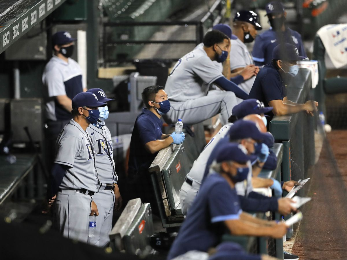 MLB tightening virus protocols, including masks in dugouts