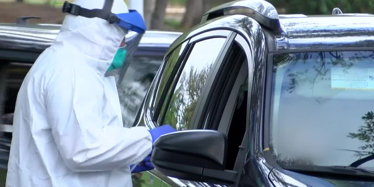 New Orleans East Hospital opens drive thru COVID-19 testing site