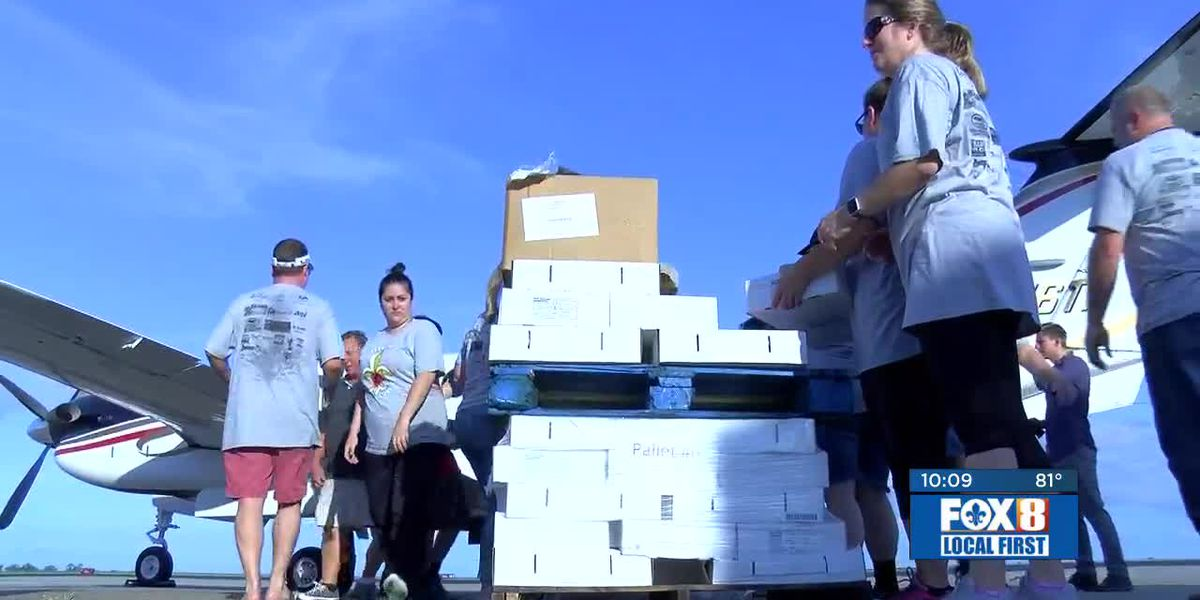 Chefs, Second Harvest ship food to Florence flood victims