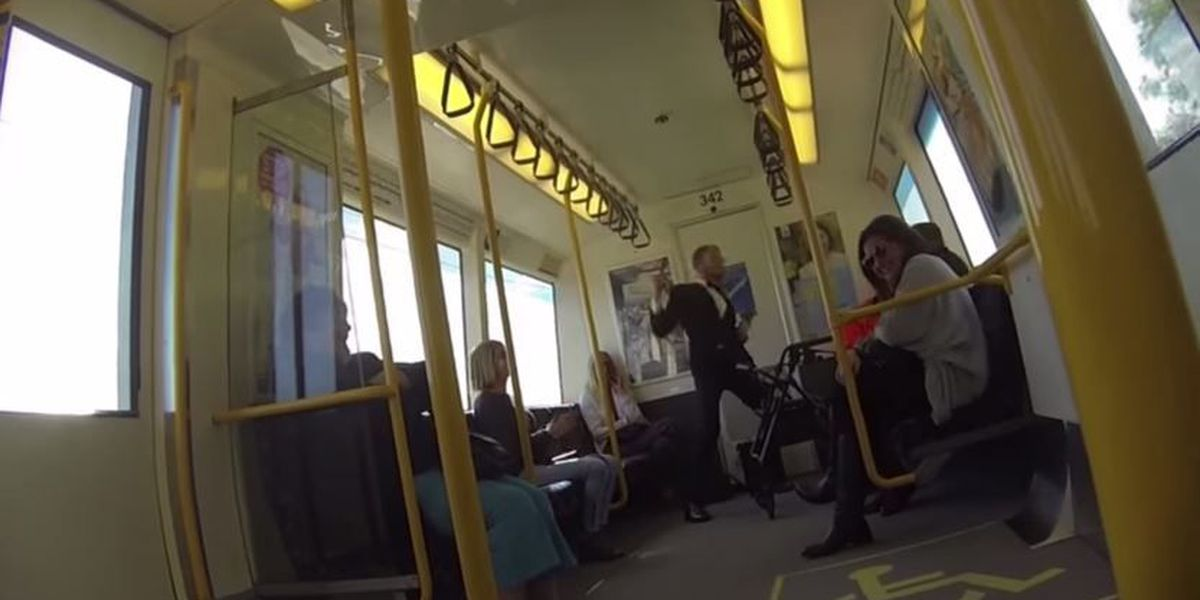 Trending: A train dance party and a tricky onside kick