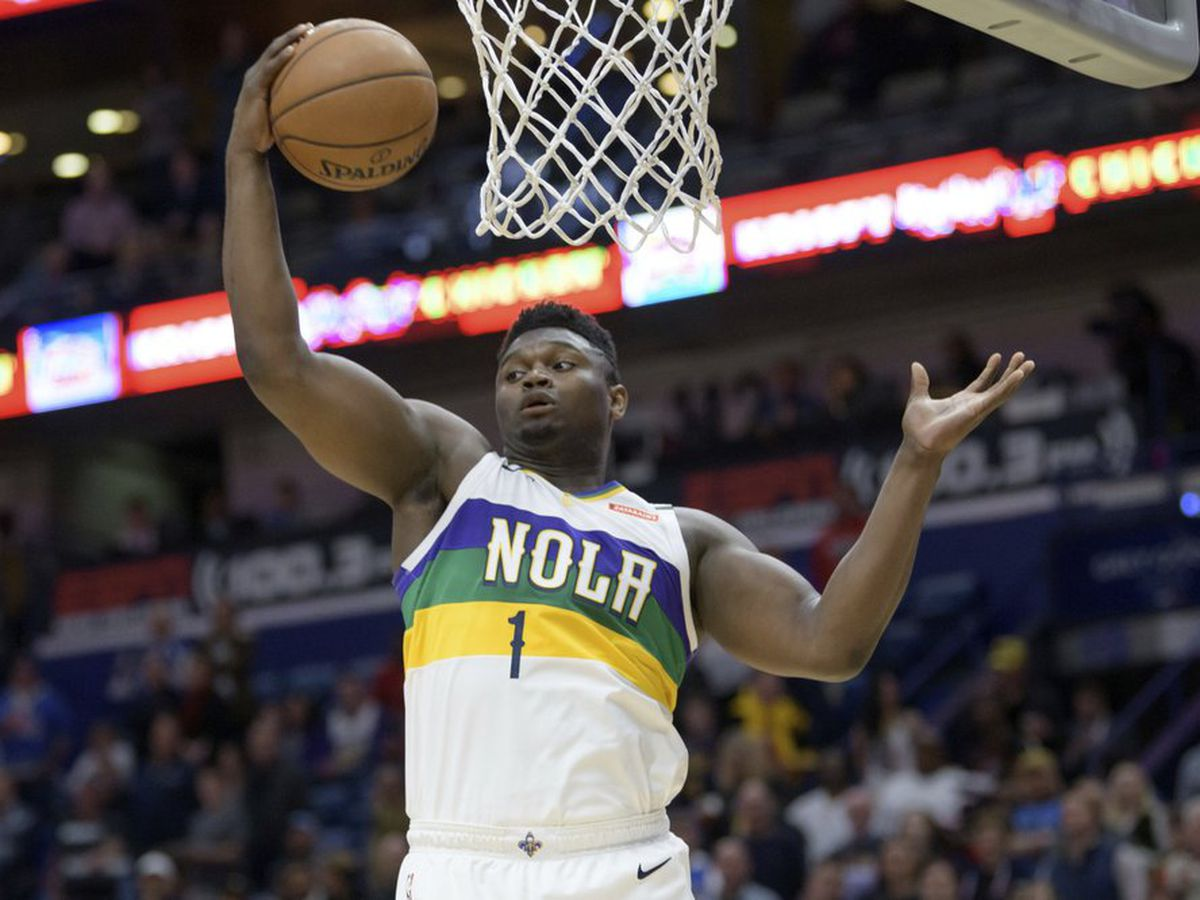 Zion has 25 in Pelicans' 128-115 win over Blazers