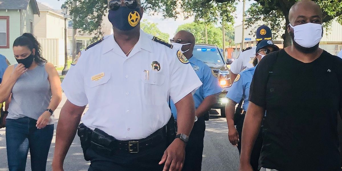 NOPD and Mayor Cantrell hold a roundtable discussion on police reform