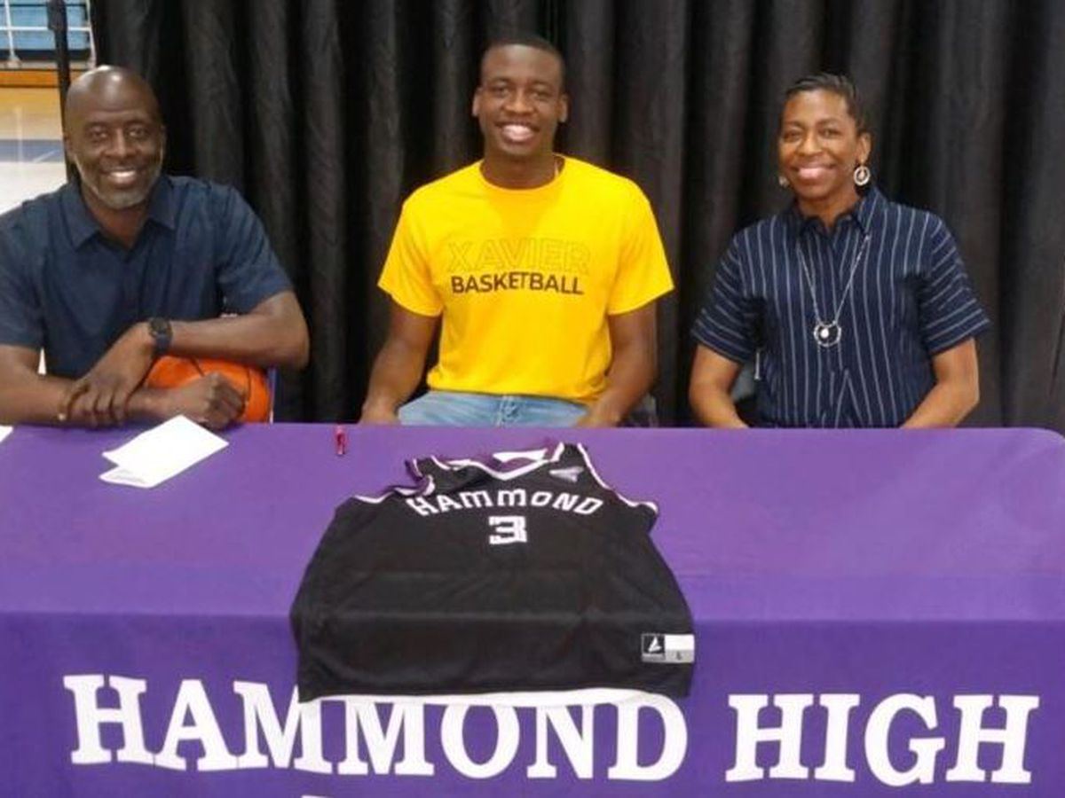 Hammond hoops star signs with Xavier
