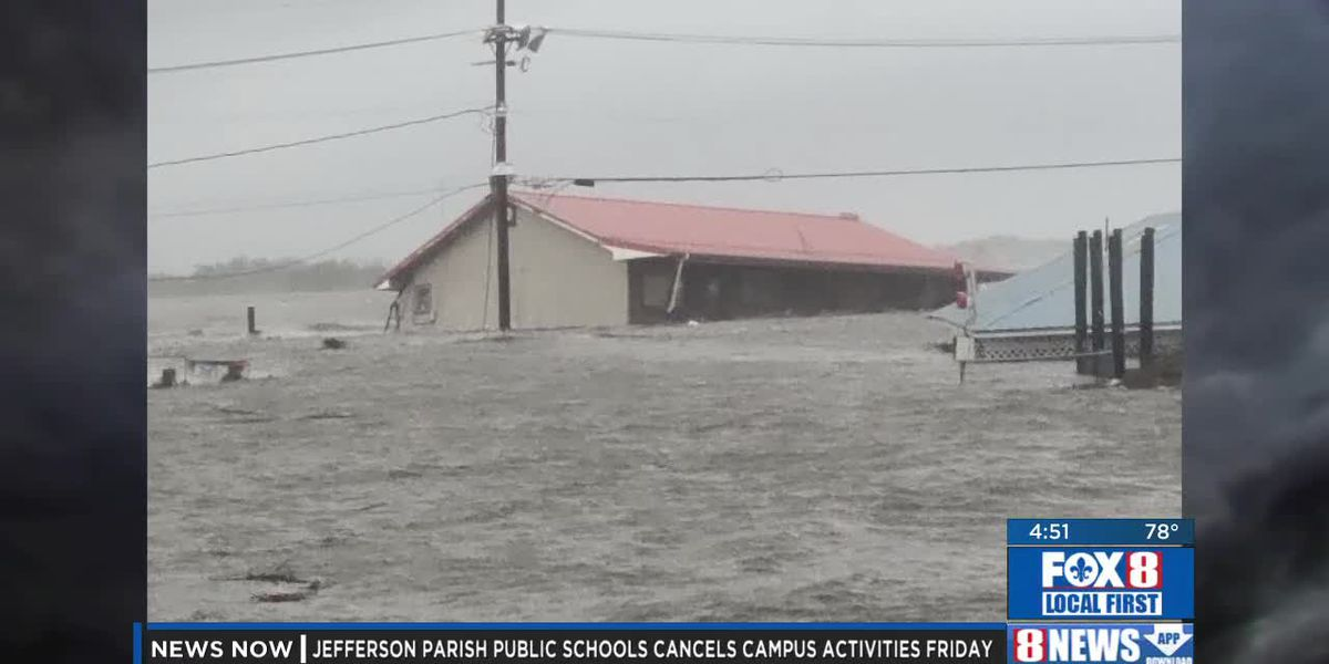 Zeta: Riding Out The Storm In Grand Isle