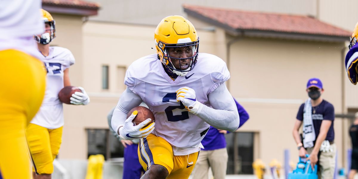 'He can be the best tight end to ever play college football' - LSU teammates gush over 'eye candy' Arik Gilbert