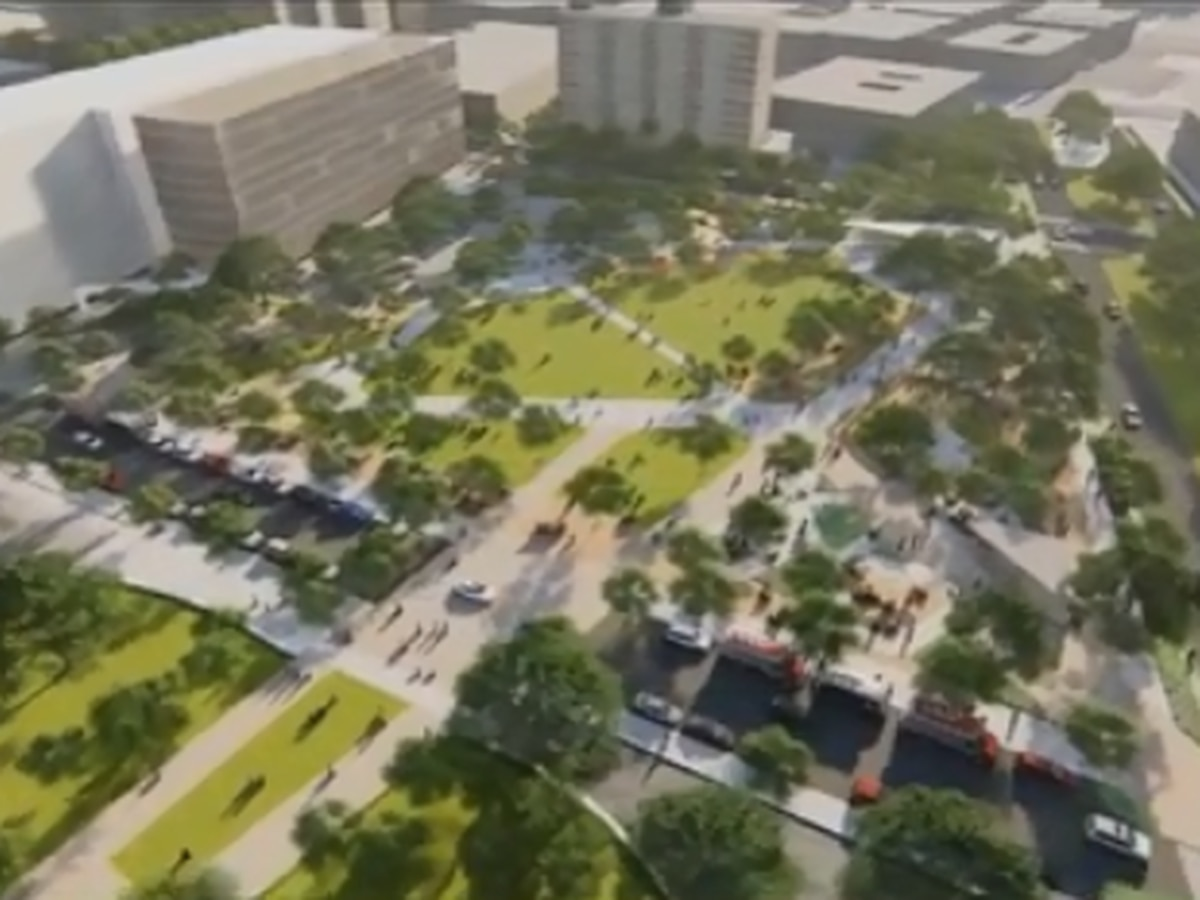Improvements to Duncan Plaza revealed Thursday