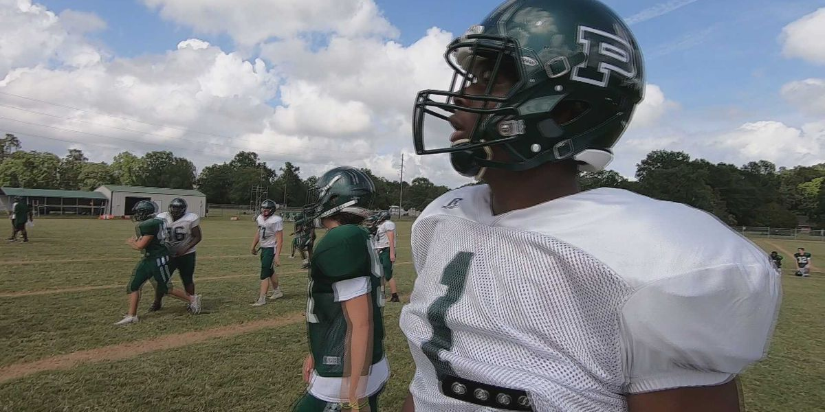 LSU commit and Ponchatoula QB T.J. Finley is turning heads with his height and arm