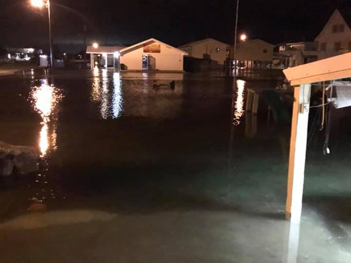 Grand Isle already feeling impact from tropical surge