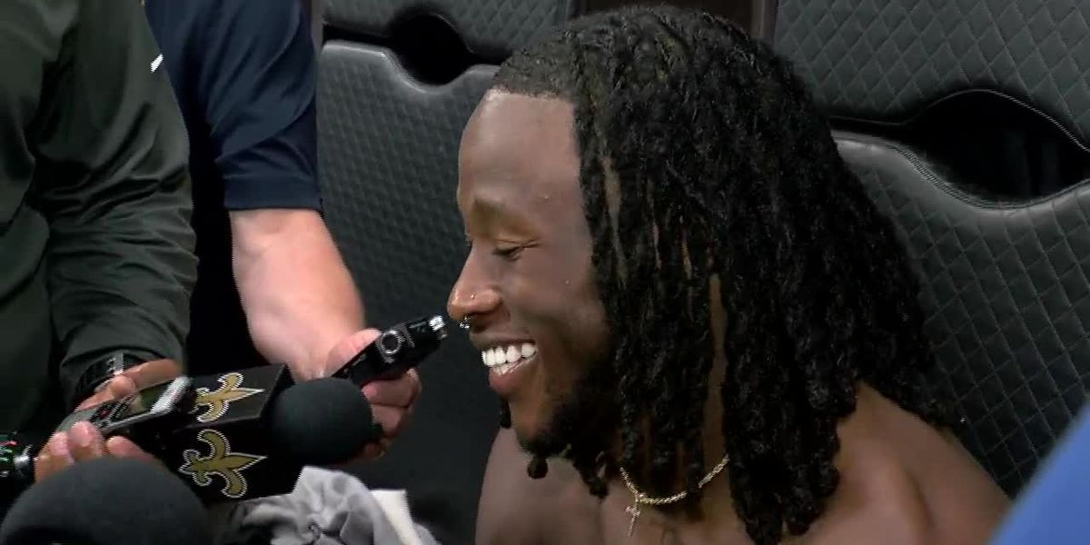 Saints RB Alvin Kamara addressed the media following minicamp day two