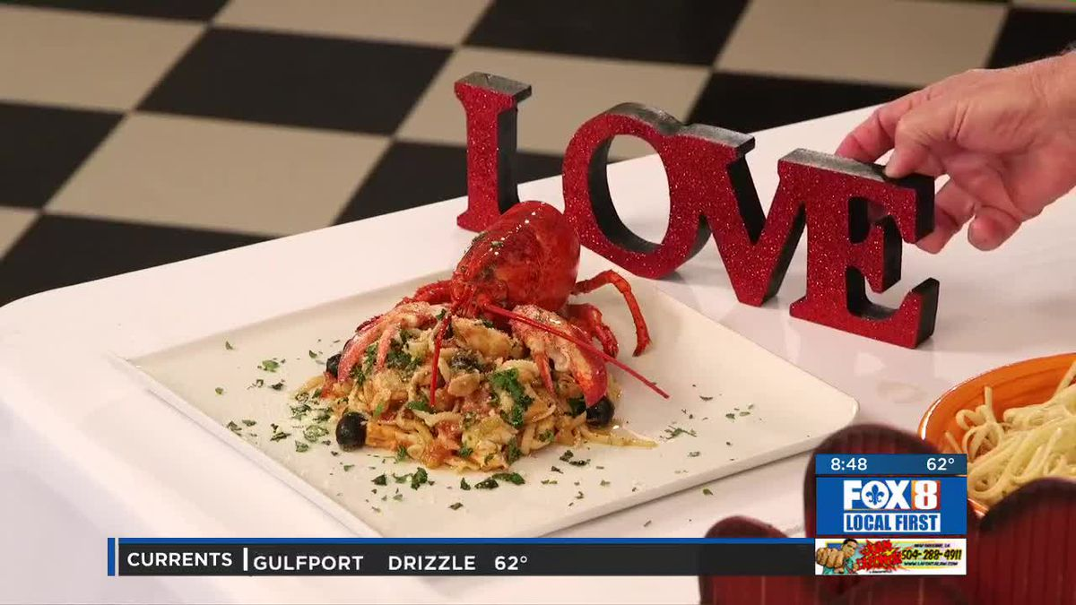 Chef Folse: Spicy Tomato and Lobster Linguine