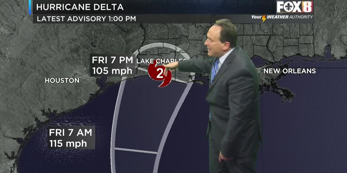 Bruce: Delta Continues to Move NW Towards SW Louisiana