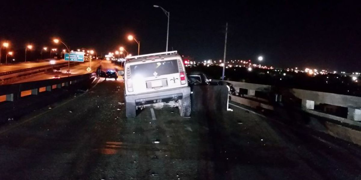 One man killed after hitting five-car crash in Gentilly