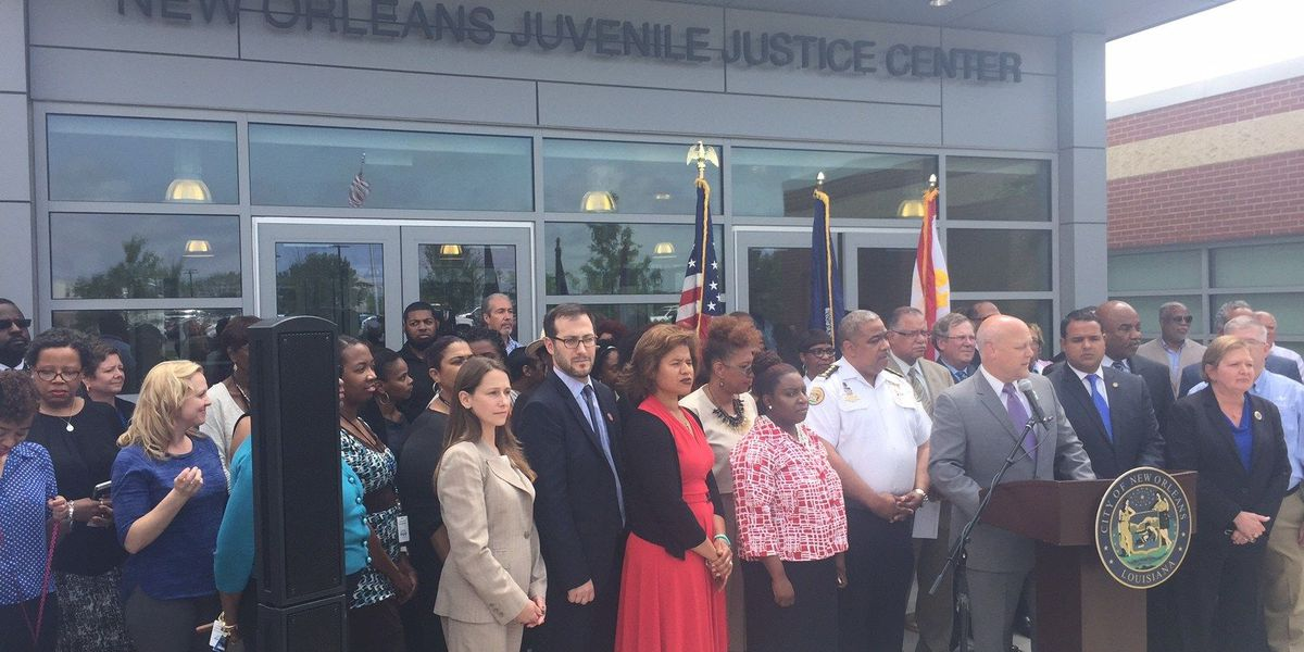 New Orleans juvenile justice center closes to public for sewer line repair