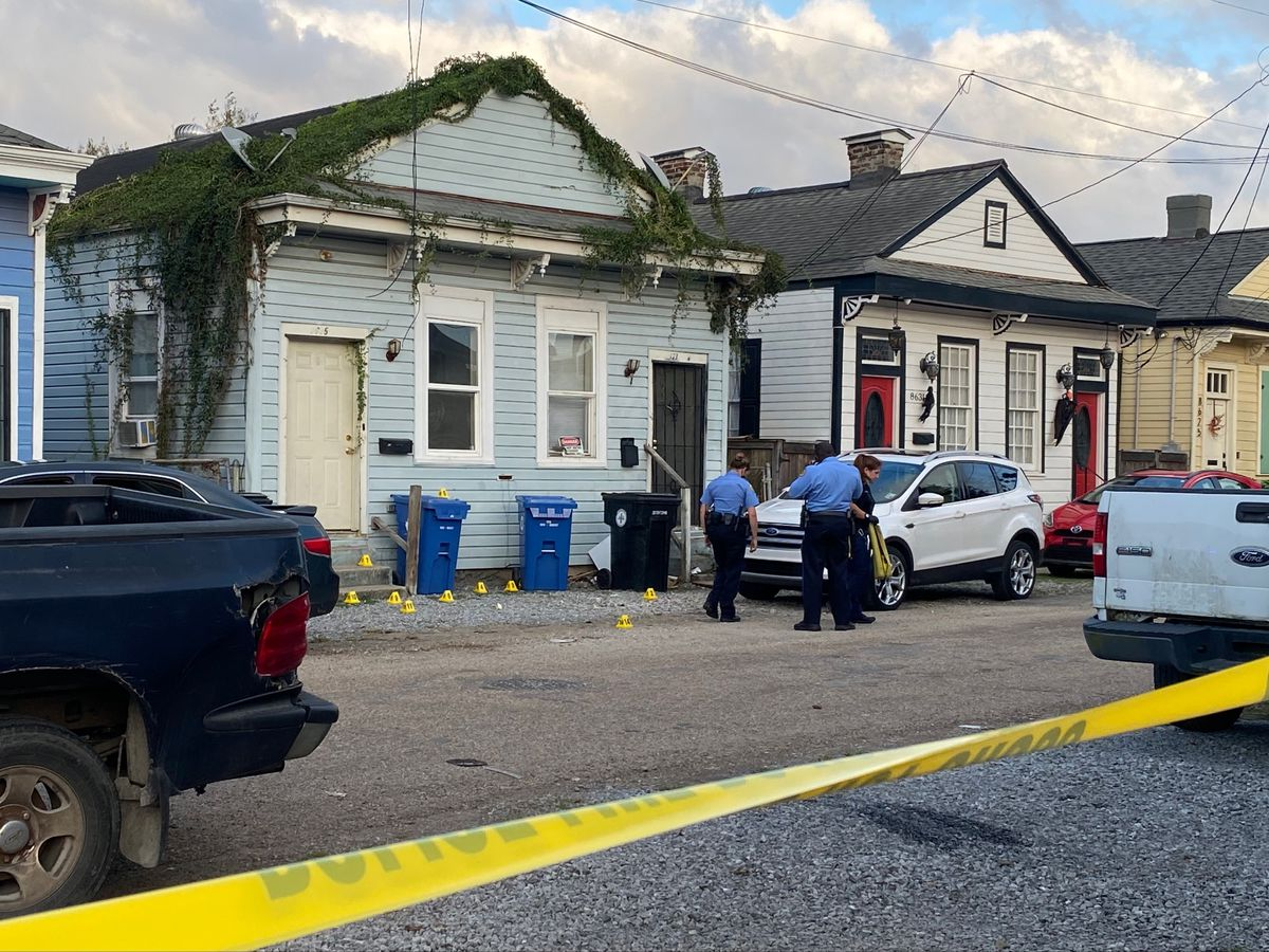 NOPD: Two men injured in shooting near the intersection of Leonidas and Hickory Street