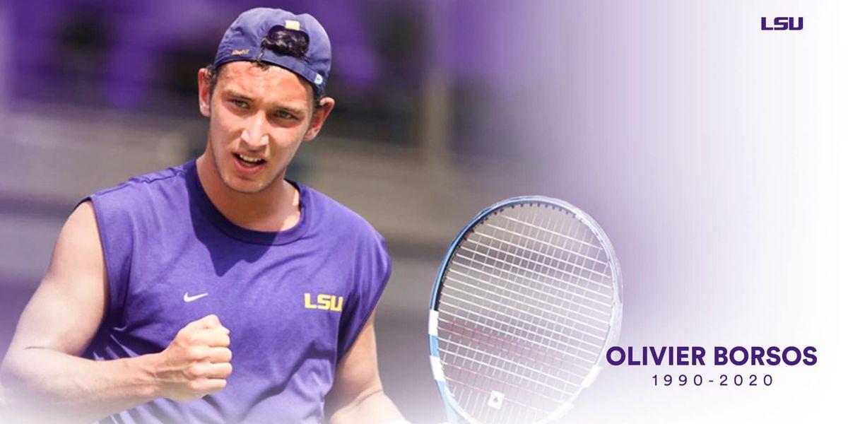 Former LSU tennis star Olivier 'Bear' Borsos dies