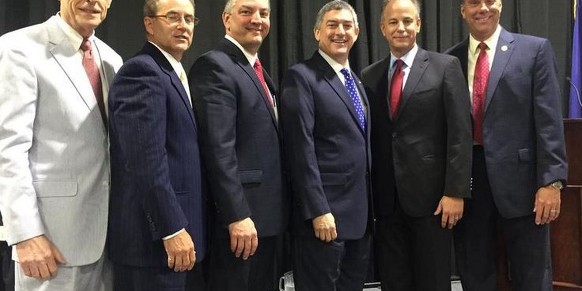 Louisiana gubernatorial candidates square off on West Bank