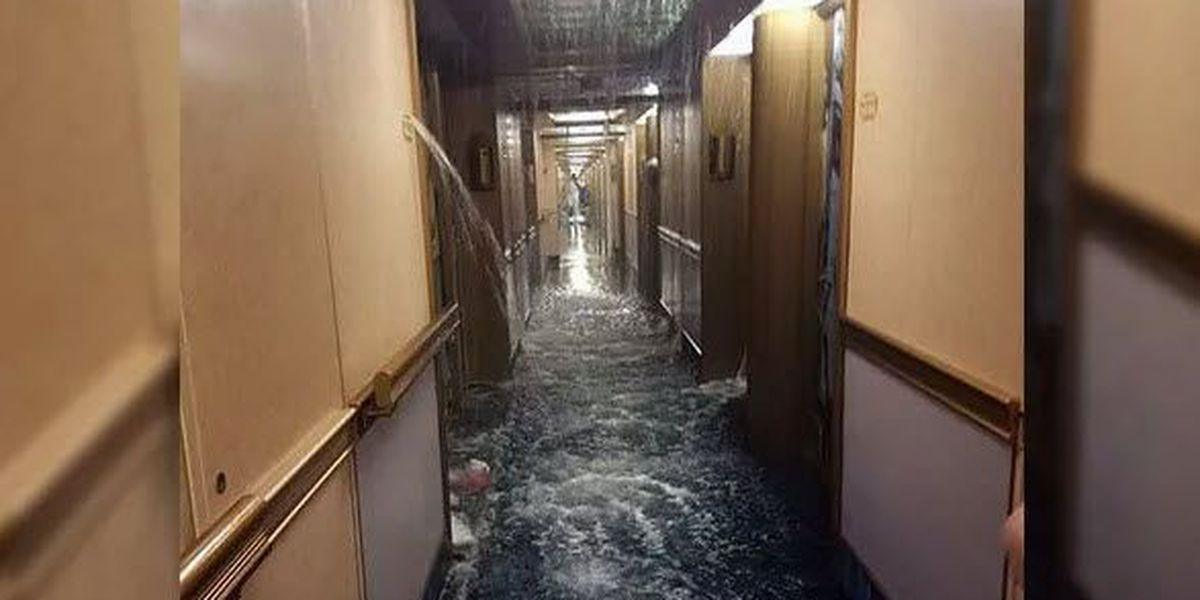 Carnival Dream passengers weigh in after burst pipe floods 50 rooms