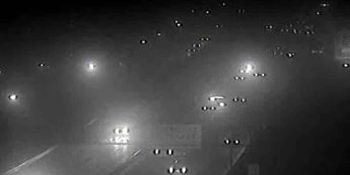 Foggy Thursday morning slows commute