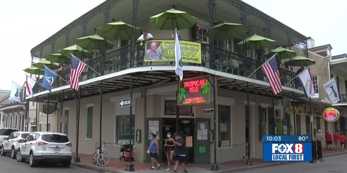 French Quarter businesses take financial hit this holiday weekend