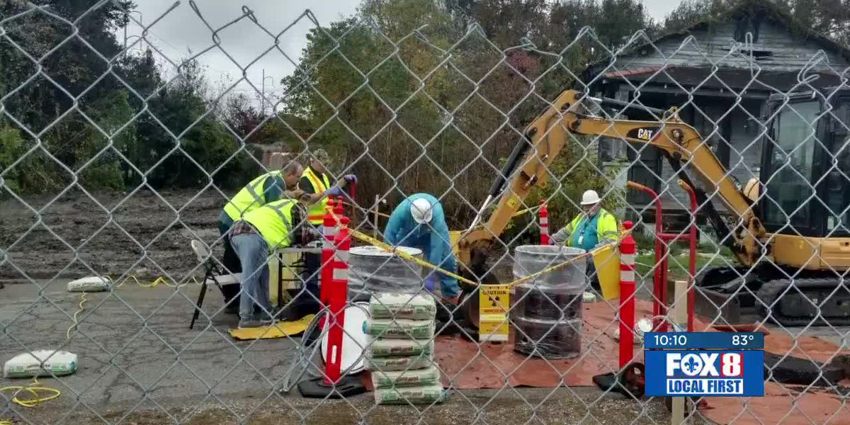Gert Town residents sue city over hazardous radioactive material