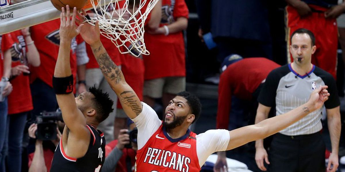 Pelicans sweep Blazers; franchise wins first playoff series in 10 years