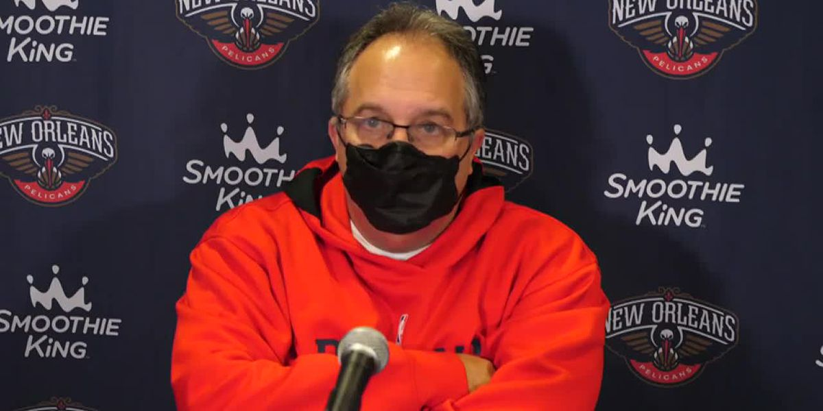 A frustrated SVG breaks down a 3rd straight Pels' loss