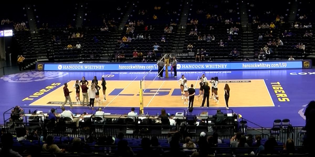 LSU volleyball wins 2 home games over Mississippi State