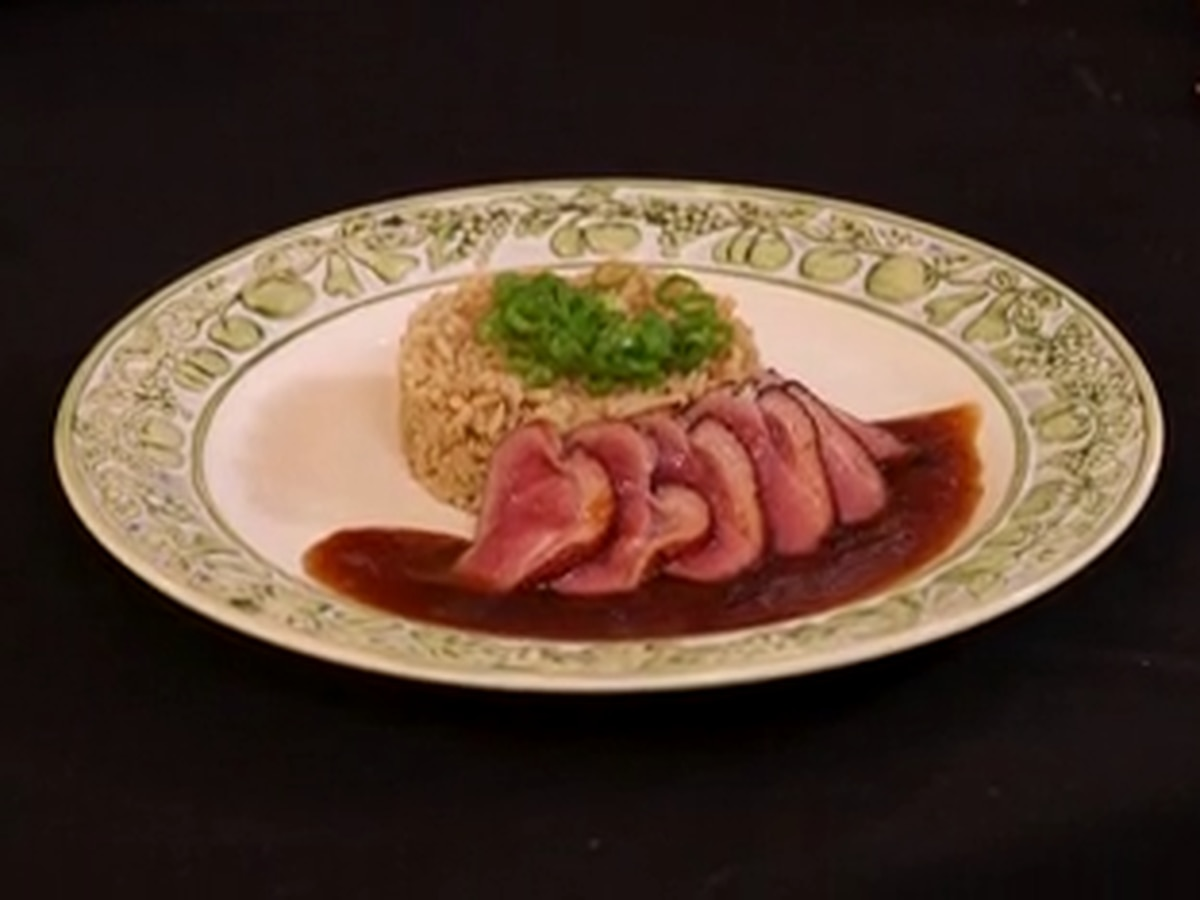 Chef John Folse: Duck Ham over Rice