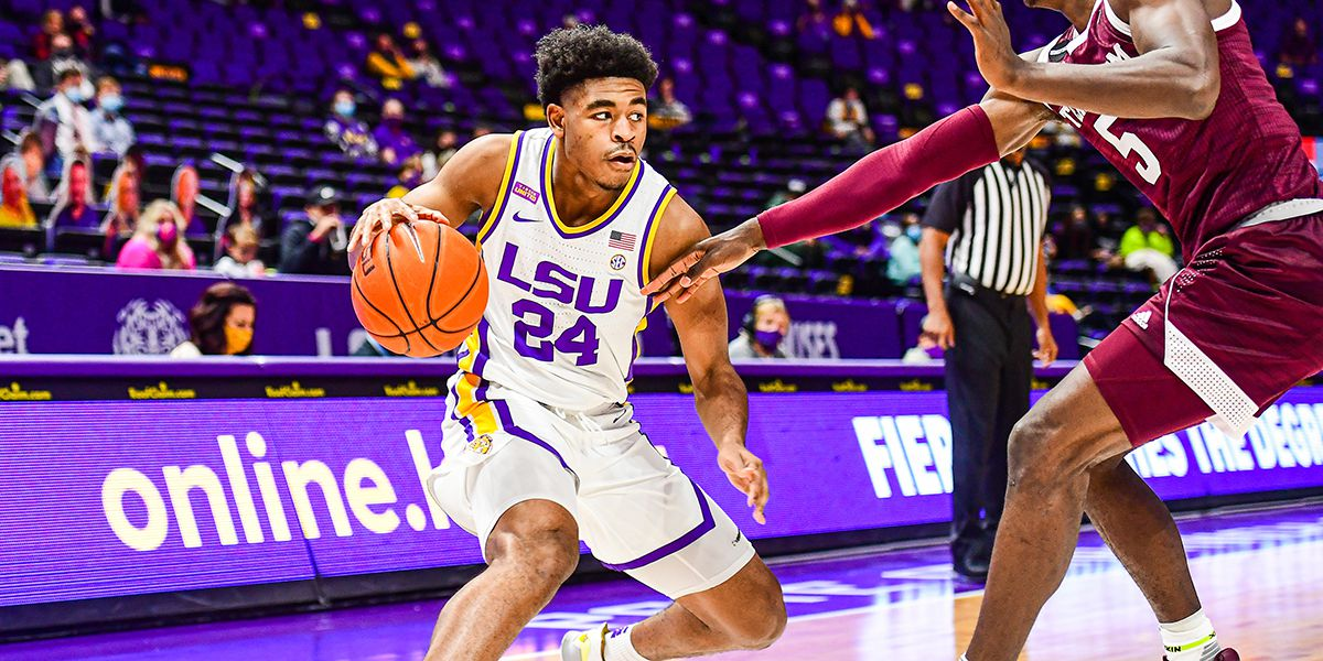 LSU opens SEC play with 77-54 rout of Texas A&M