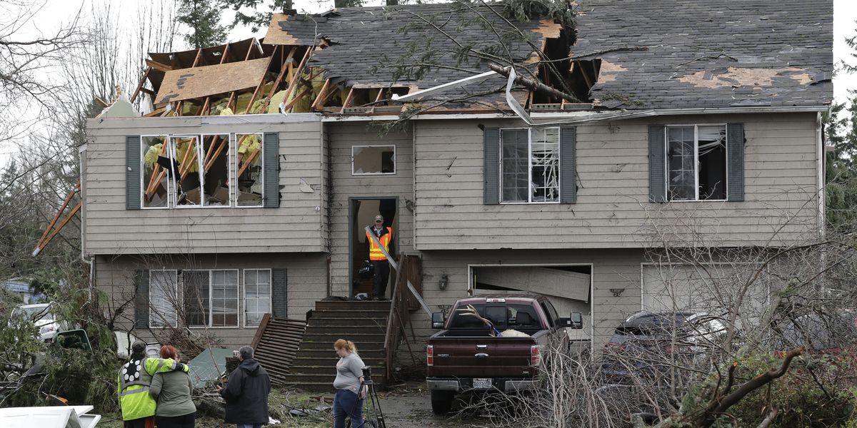 Rare Washington state tornado strongest since 1986
