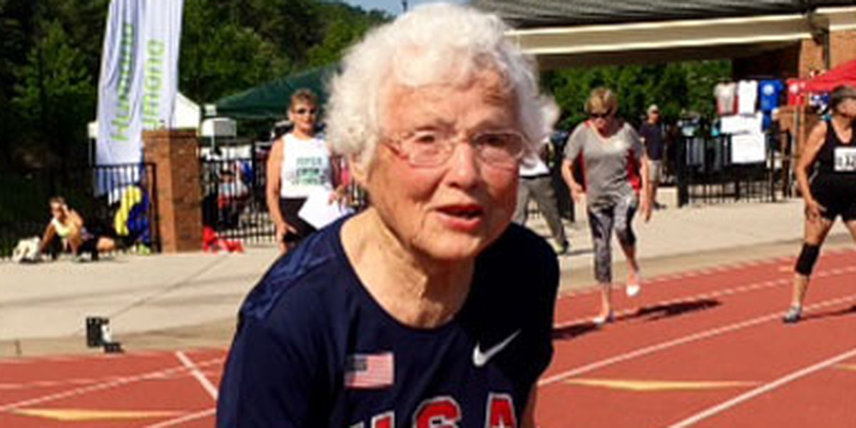 103-year-old Baton Rouge woman sets new record