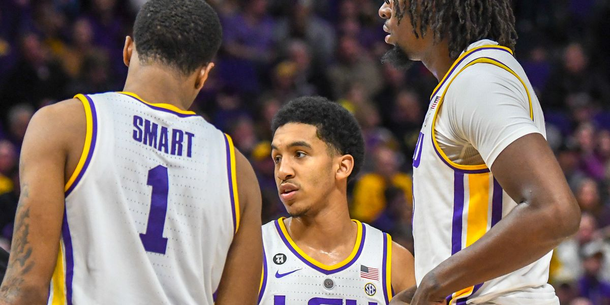 LSU drops two spots in latest AP Top 25