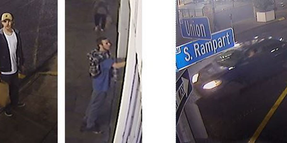 NOPD searches for vandalism, theft suspects