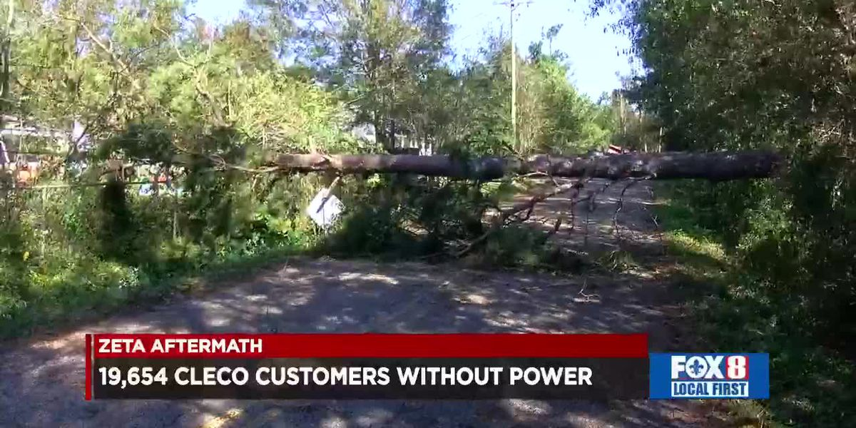 Cleco Outages Update, Friday morning