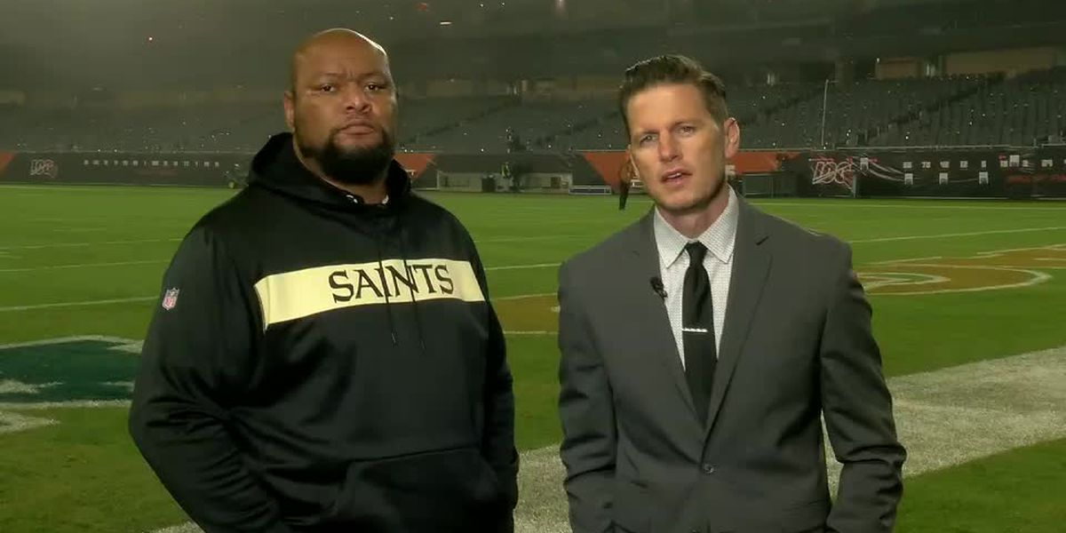 Deuce McAllister and Sean Fazende analyze the Saints win over the Bears