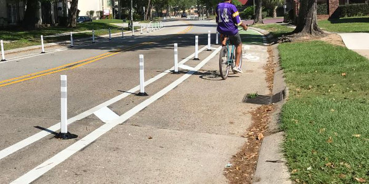 VIDEO: Completion of 'Moving New Orleans Bikes' project on Elysian Fields