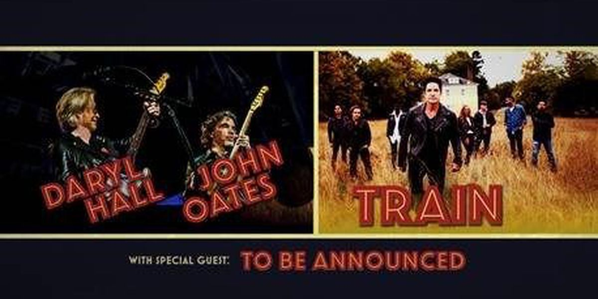 Hall & Oates, Train coming to Smoothie King Center this Summer