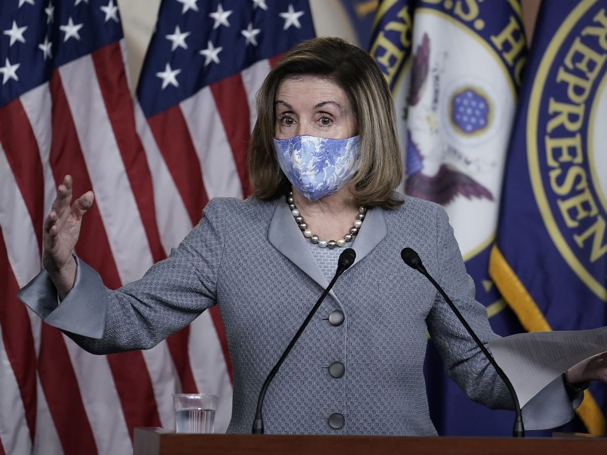 Pelosi scolds White House over no response in virus talks