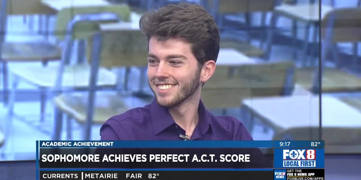 Student achieves perfect ACT score